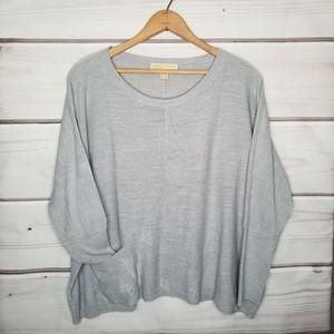MICHAEL Michael Kors Grey Sweater Size XL